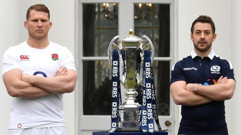 Dylan Hartley and Greig Laidlaw