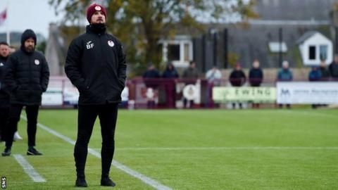 Barry Ferguson's Kelty Hearts v Auchinleck Talbot on BBC