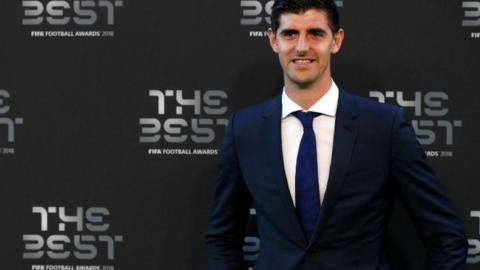 Thibaut Courtois won the goalkeeper award
