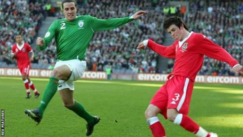 John O'Shea and Gareth Bale