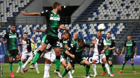 Highlights: Sassuolo 3-3 Juventus