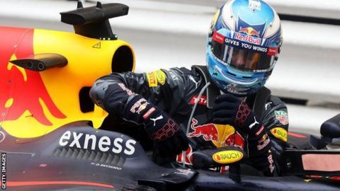 Red Bull F1 driver Daniel Ricciardo
