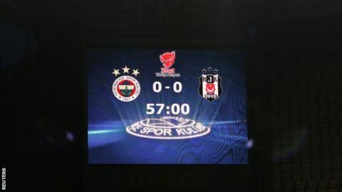 Turkey rejects Besiktas appeal on Istanbul derby