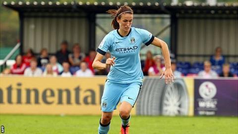 Jill Scott Manchester City Women