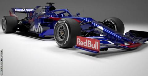 Toro Rosso launches 2019 vehicle
