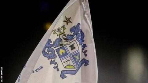 Bury won automatic promotion back to League One at the first attempt last season
