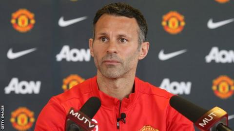 Ryan Giggs was Manchester United interim manager for four games in 2014