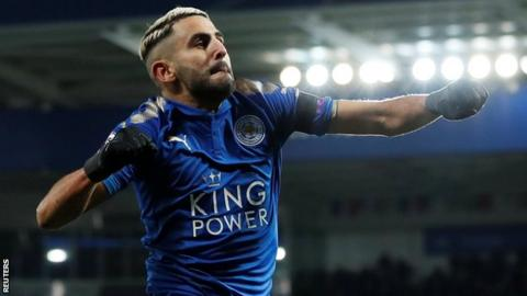 Riyad Mahrez: Leicester City winger trains for first time since move broke down