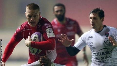 positive news Scarlets v Toulon