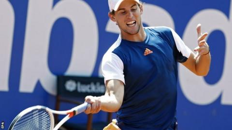 Dominic Thiem in Barcelona