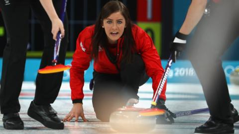 Great Britain's Eve Muirhead