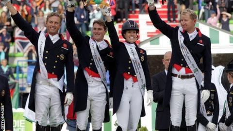 Great Britain win world championship silver