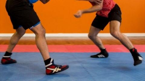 Wrestling, file image