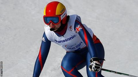 Paralympic skier Kelly Gallagher