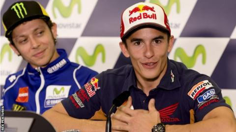 Valentino Rossi & Marc Marquez clashed at the Malaysian Grand Prix
