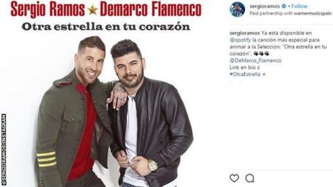 Sergio Ramos on Instagram