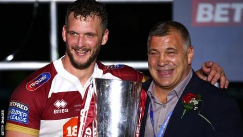 Sean O'Loughlin and Shaun Wane