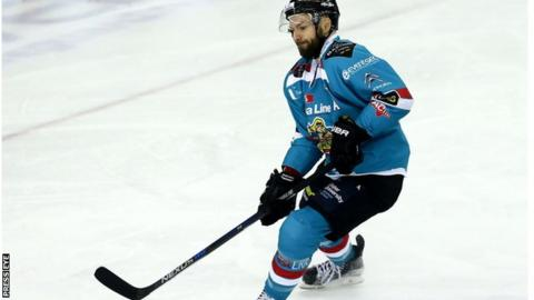 Colin Shields was on target for Belfast at the National Ice Centre