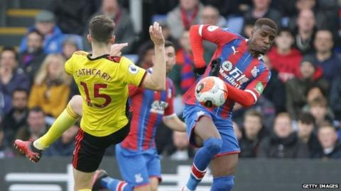 Crystal Palace's last match was a 1-0 home win over Watford on 7 March
