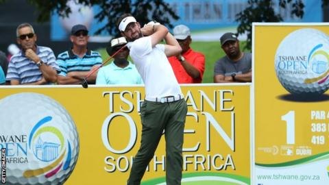 Scott Jamieson maintained his fine form in the third round at Pretoria Country Club