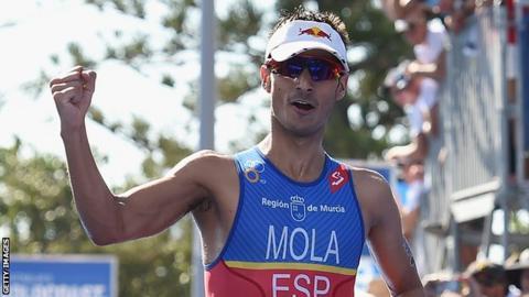 Mario Mola of Spain