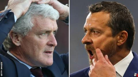 Mark Hughes and Slavisa Jokanovic