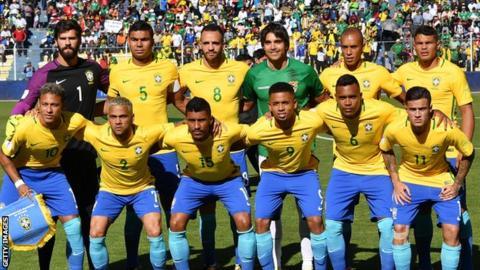 Brazil v Bolivia