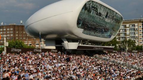 Full house for Middlesex v Surrey in the T20 Blast