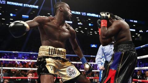 Date set for Wilder-Ortiz
