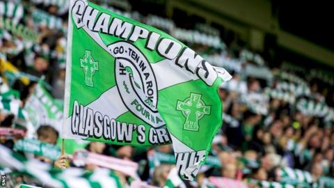 Celtic were league champions in 2014/15