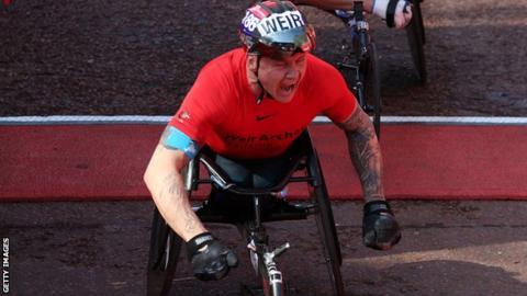 World Para-athletics Championships: David Weir one of five Britons in London Marathon