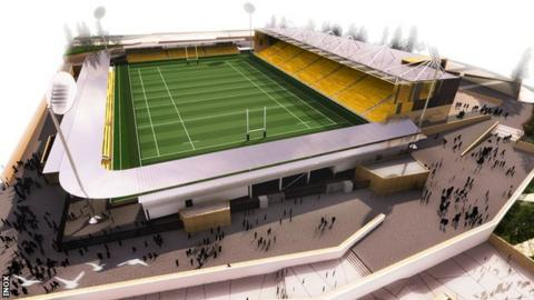 Stadium for Cornwall