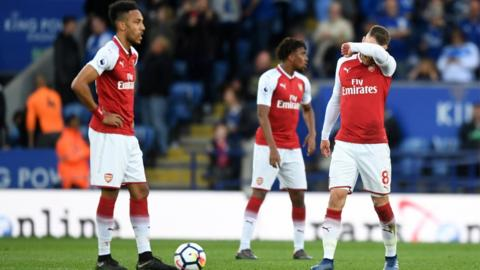 Leicester City v Arsenal, May 2018