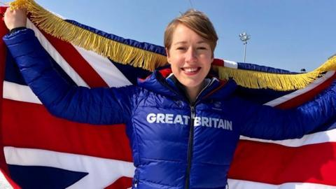Winter Olympics: Lizzy Yarnold named Team GB flagbearer