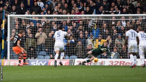 Robert Green saves a penalty