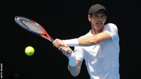 Big names through on Australian Open day one
