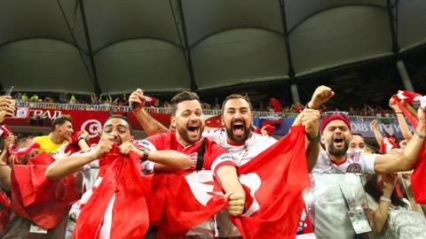 Belgium v Tunisia