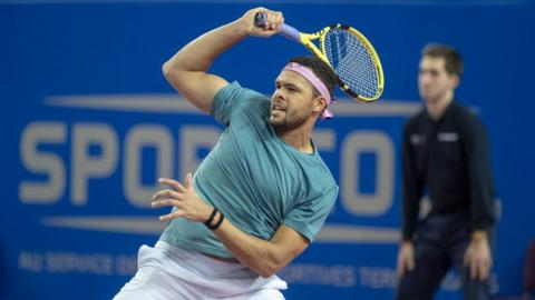 Tsonga's last victory was in Antwerp in October 2017