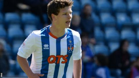 Teenage centre-back Lewis Clark makes his debut for Kilmarnock