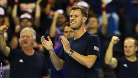Leon Smith celebrates victory