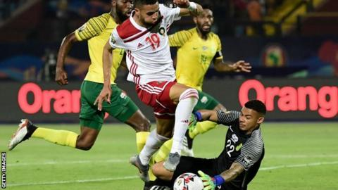 Morocco were quarter-finalists at the Africa Cup of Nations in 2017