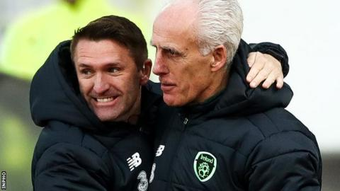 Jeff Hendrick's second-half goal was decisive for McCarthy and assistant manager Robbie Keane