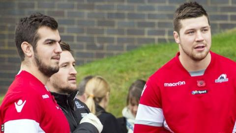 Stuart McInally and Grant Gilchrist