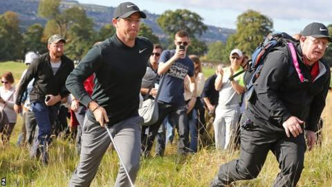 Rory McIlroy is currently sixth in the world rankings