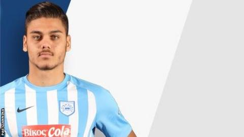 Who is Konstantinos Mavropanos? Profile on Greek centre-back Wenger has signed