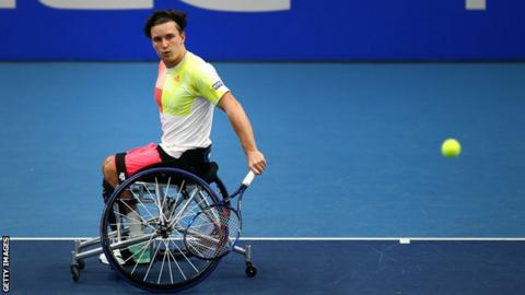 British wheelchair tennis star Gordon Reid became the third Briton to finish 2016 as world number one, following fellow Scots Andy and Jamie Murray