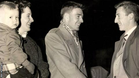 Cliff Jones and his brother