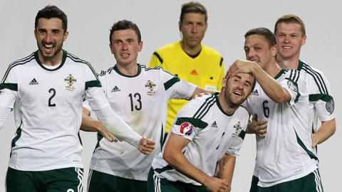 Northern Ireland started their Euro 2016 qualifying campaign with a 2-1 win away to Hungary