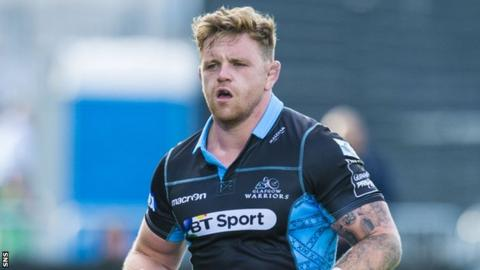 Glasgow Warriors hooker Kevin Bryce