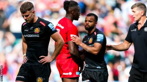 Exeter lose to Saracens